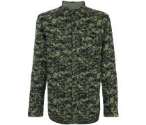 Hemd in Camouflage-Optik