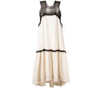 Oversized-Kleid mit asymmetrischem Saum - women