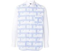 Hemd mit bedrucktem Einsatz