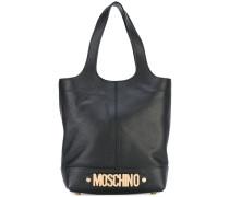 - logo plaque tote bag - women