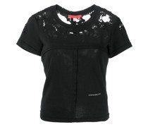 distressed lapped baby tee