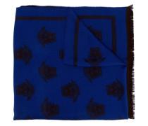 Intarsien-Schal mit Medusa