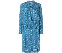 Kleid mit gerüschter Borte
