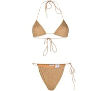 Bikini mit Lurex