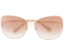 Rechteckige Oversized-Sonnenbrile