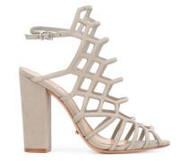 Sandalen mit Blockabsatz - women - Leder - 39