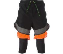 x Kolor 'Fim Yarn' Shorts