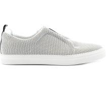 Slip-On-Sneakers mit Netzoptik