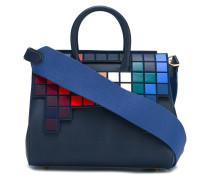 Handtasche mit Pixel-Design
