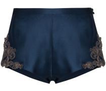 'Maison' Shorts mit Spitze