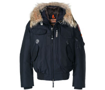 fur trim down jacket