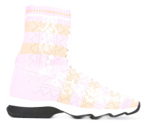 - panel sock sneakers - women