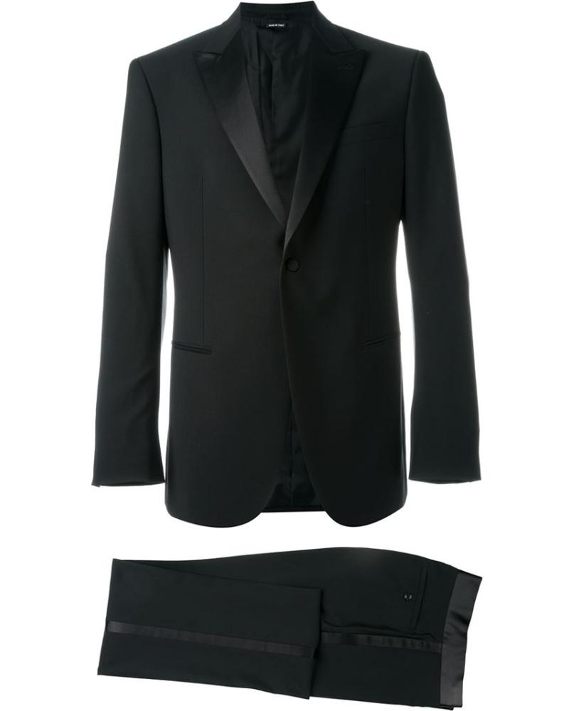 giorgio armani herren zweiteiliger anzug reduziert. Black Bedroom Furniture Sets. Home Design Ideas