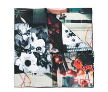 Seidenhalstuch mit floralem Muster - women