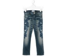 Jeans mit Stickerei - Unavailable