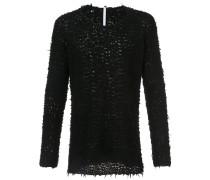 Pullover mit Knopfverschluss
