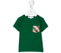 T-Shirt mit karierter Brusttasche - kids