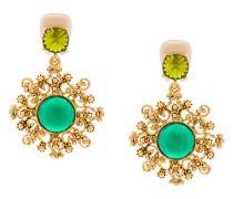 filigree pendant earrings