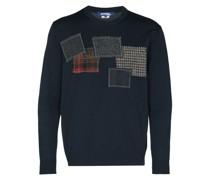 patch-embellished jumper