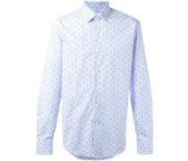 Hemd mit Punktemuster - men - Baumwolle - S