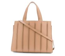 Handtasche mit Strukturstreifen