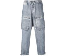 Hose mit tiefem Schritt - men - Baumwolle - 44
