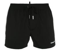 contrast panel swim shorts