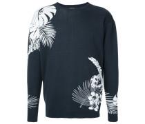 tropical intarsia jumper