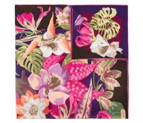"""Seidenschal mit """"Hibiscus""""-Print - women"""