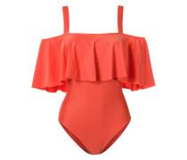 - Badeanzug mit Volant - women - Polyamid/Elastan
