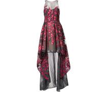 Kleid mit Blumen-Patches
