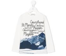Langarmshirt mit grafischem Print