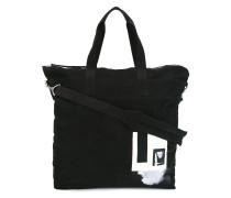 Große Handtasche mit Patch