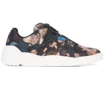 Sneakers mit Foto-Print