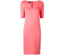 Kleid mit rundem Ausschnitt - women