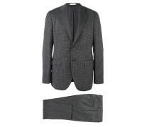 plaid formal suit