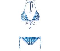 Bikini mit Muschel-Print