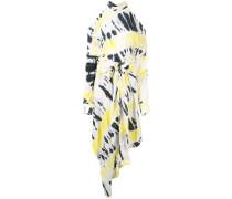 Jersey-Kleid mit Batikmuster