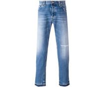- Jeans in Distressed-Optik - men - Baumwolle - 34
