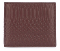 embossed billfold wallet