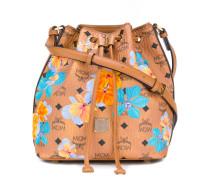 Essential floral drawstring bag