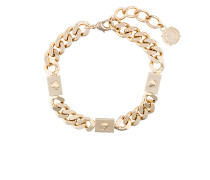 Medusa chain choker necklace