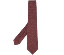 knit print tie