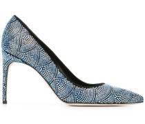 'Alis' Pumps - women - Leder/Wildleder/Kristall