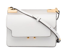 Mini White Trunk shoulder bag