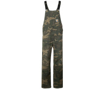Overall mit Camouflage-Print
