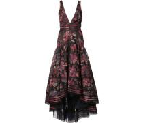 Ausgestelltes Kleid mit floralem Print