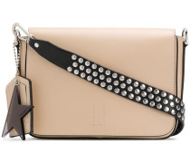 studded strap shoulder bag