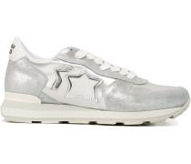 'Vega' Sneakers im Metallic-Look