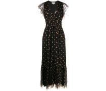 Ausgestelltes Kleid mit Pailletten